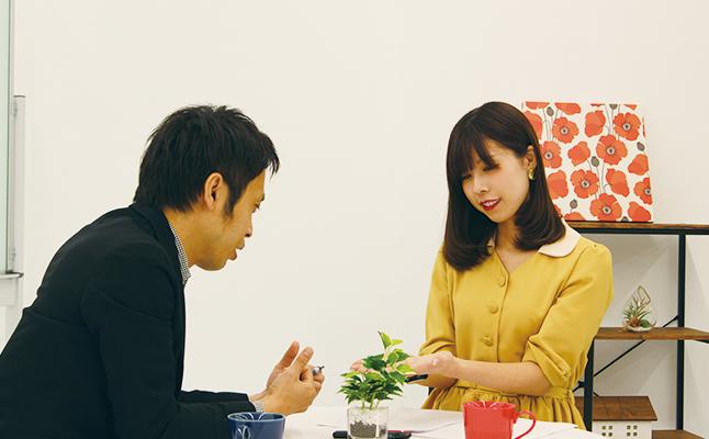 有村藍里×Hoshi「はじめての手相占い」