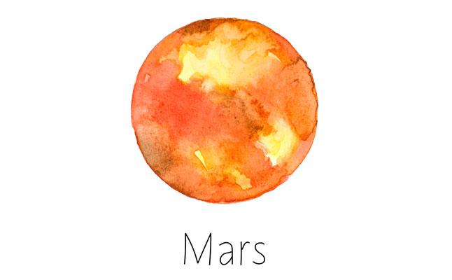 火星 真木あかりの惑星逆行カレンダー