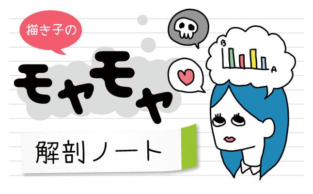 描き子のモヤモヤ解剖ノート