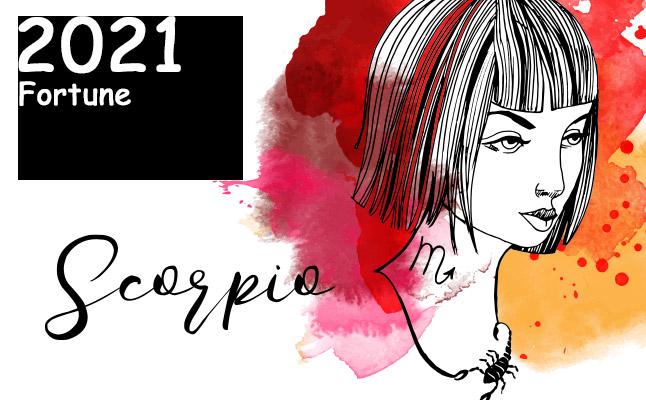 蠍座 2021年の運勢】恋愛運、仕事運、金運…12星座別メッセージ | 恋愛 ...